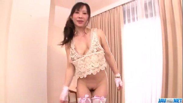 Yuwa Tokona hot milf fucked in gangbang series
