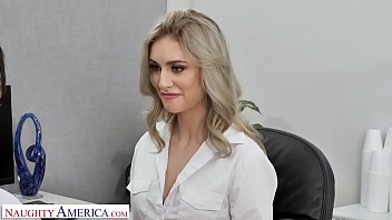 Naughty America – Mazzy Grace and Ryan Driller FUCK in Naughty Office